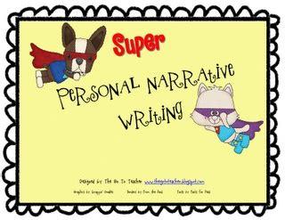 Personal narrative essay writing